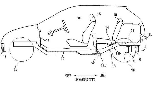 Mazda запатентовала роторный мотор для гибрида 4