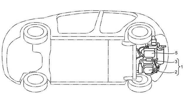 Mazda запатентовала роторный мотор для гибрида 5
