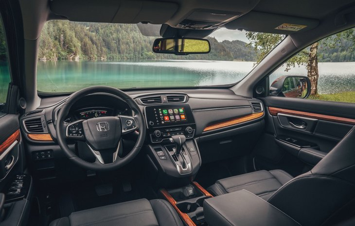 Гибридная Honda CR-V выйдет на европейский рынок в 2019 году 2