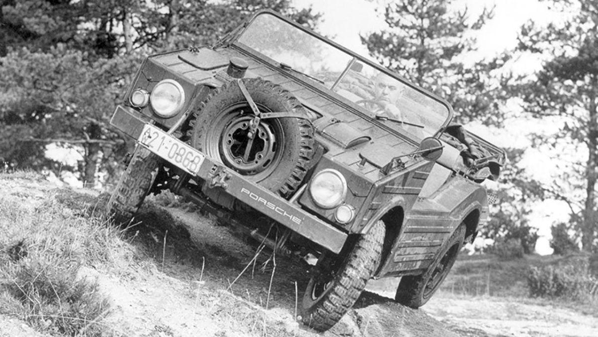 Каким был первый внедорожник Porsche 1