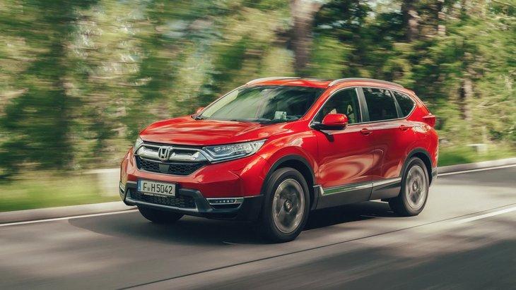 Гибридная Honda CR-V выйдет на европейский рынок в 2019 году 1