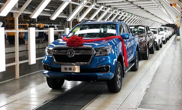 Китайский родственник Renault Alaskan и Mercedes X-Class отправился в производство 1