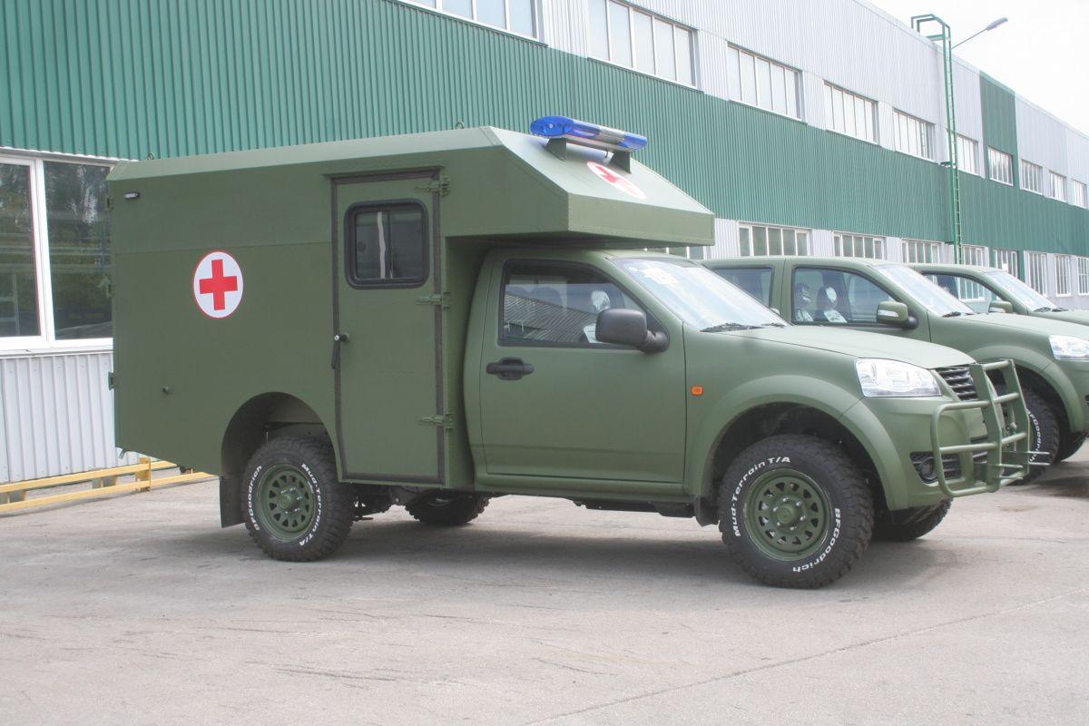 Журналистам показали обновленные автомобили Богдан 1