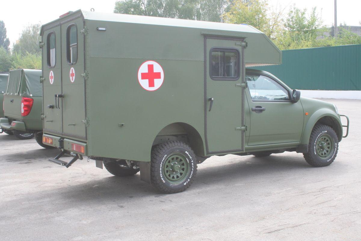 Журналистам показали обновленные автомобили Богдан 2