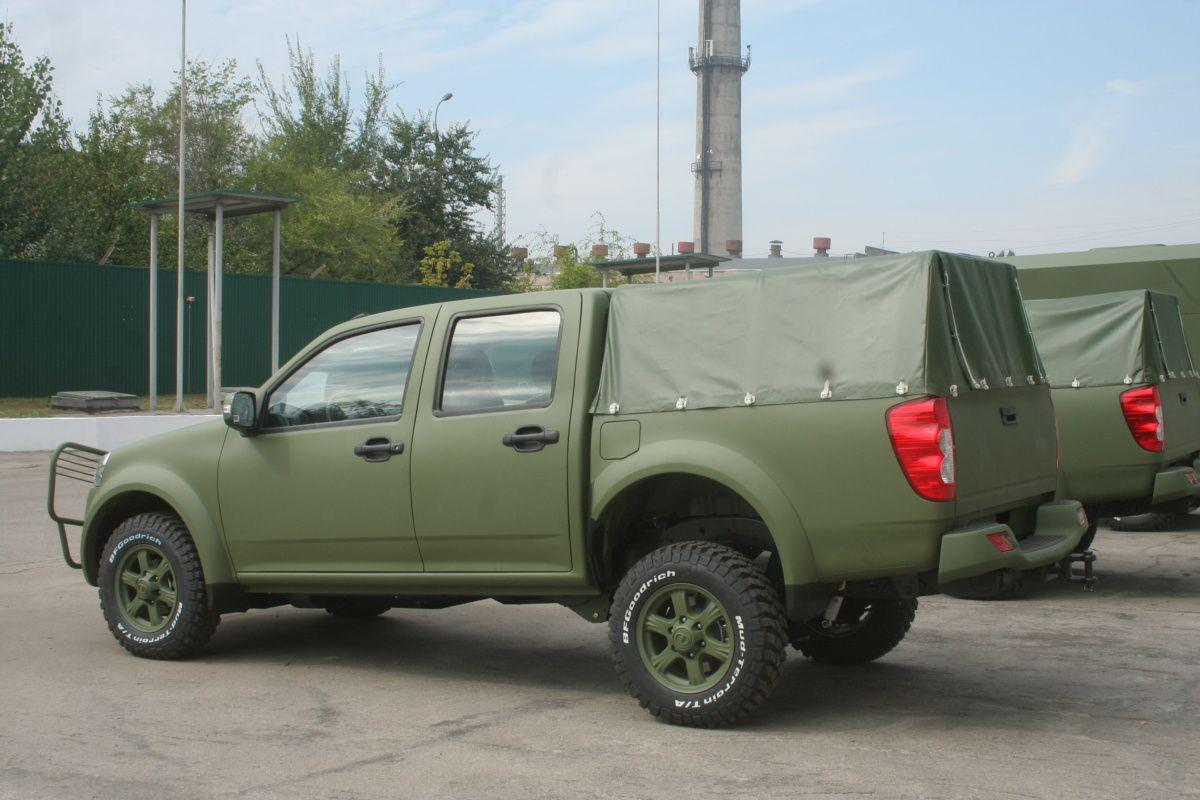 Журналистам показали обновленные автомобили Богдан 3