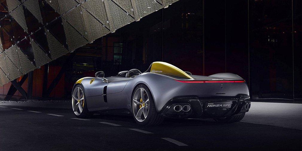 Ferrari выпустила два спидстера с самым мощным мотором в своей истории 2