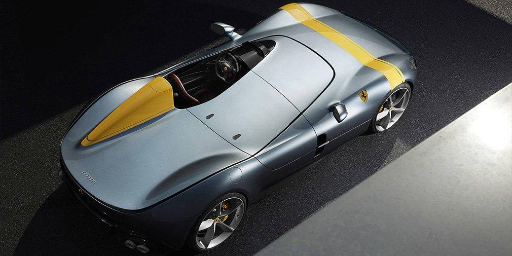 Ferrari выпустила два спидстера с самым мощным мотором в своей истории 1