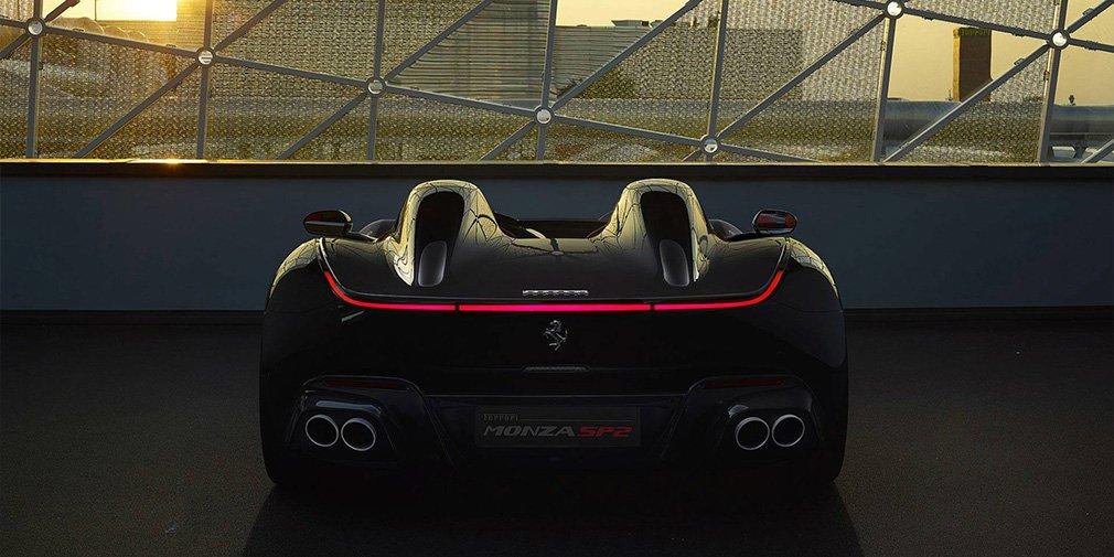 Ferrari выпустила два спидстера с самым мощным мотором в своей истории 4
