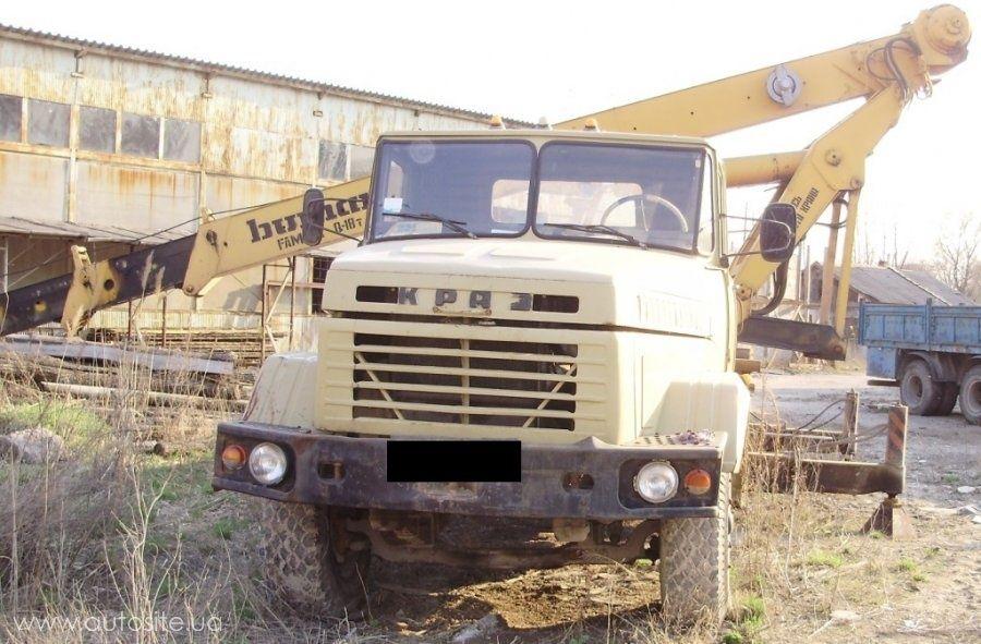 Необычный автокран КрАЗ выставлен на продажу 2