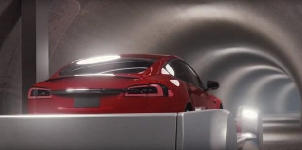 Илон Маск готовит новый проект подземного гаража 1