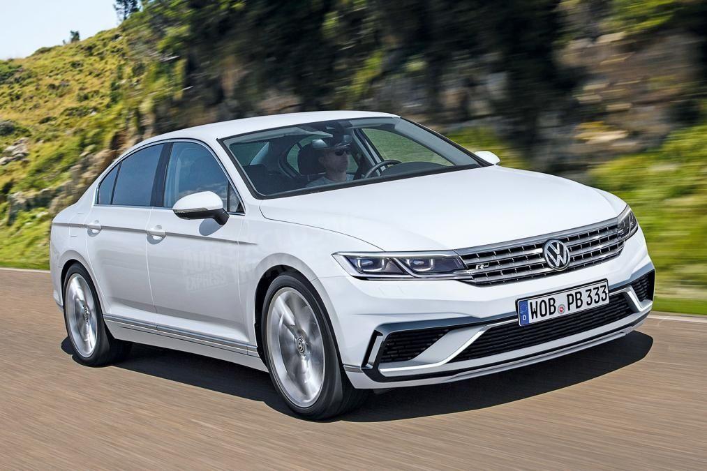 Каким будет обновленный Volkswagen Passat 1