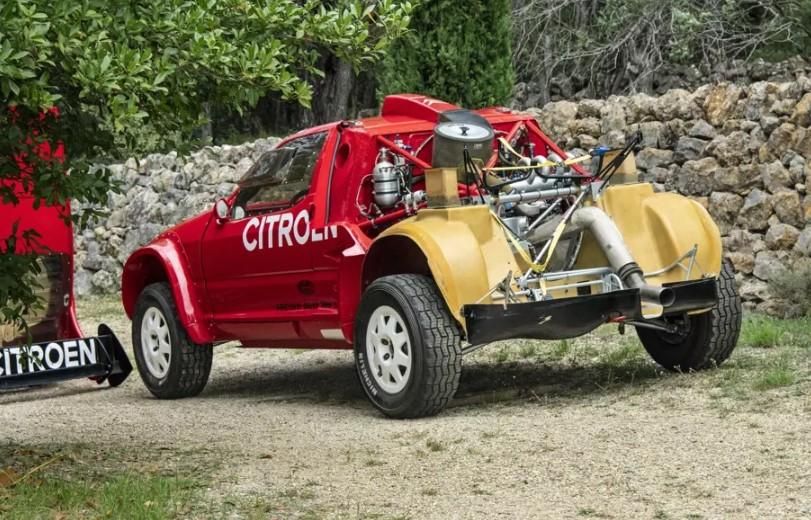 Гоночный Citroen для «Париж-Дакара» выставили на продажу 1