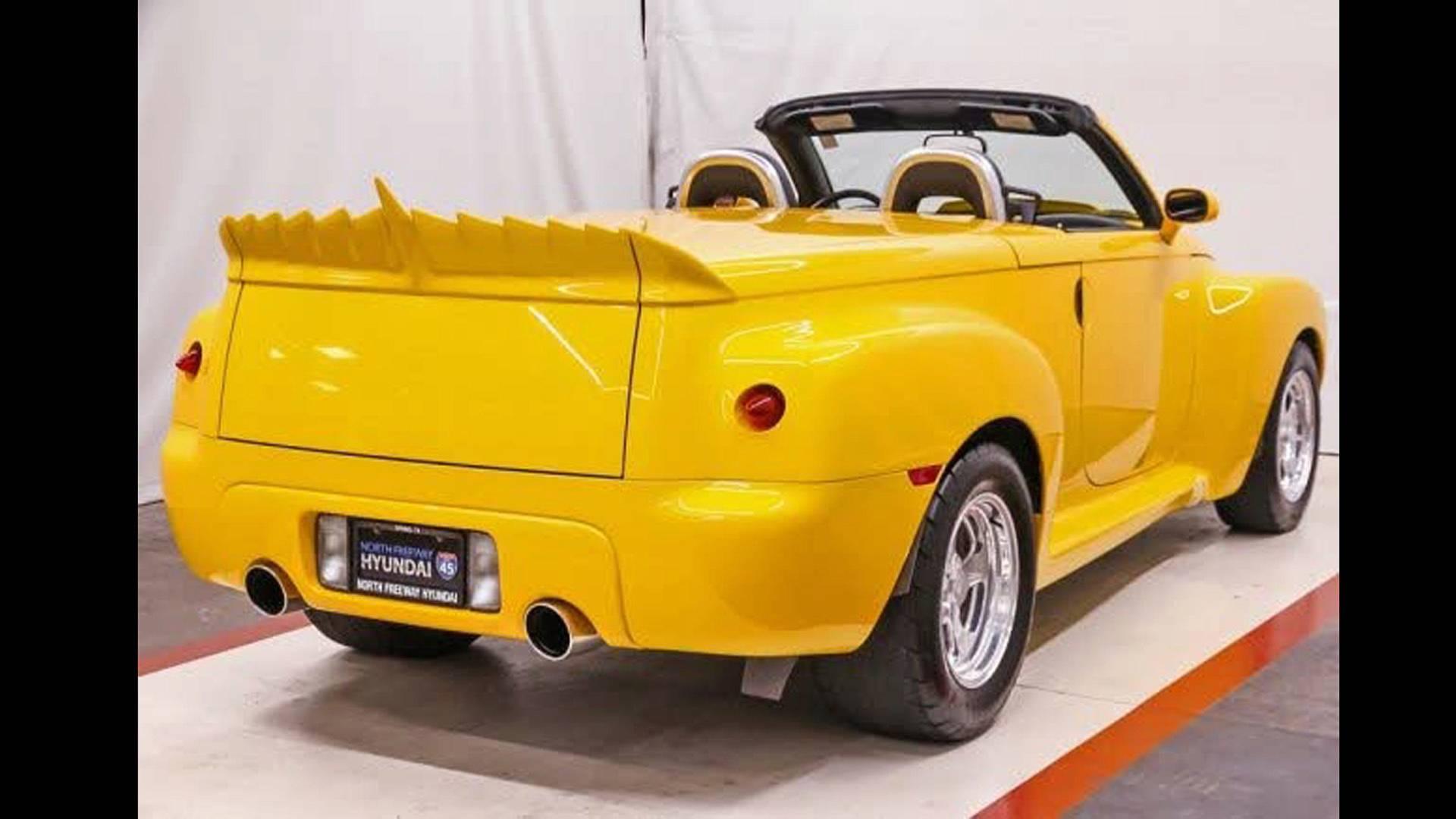 Из пикап-кабриолета Chevrolet сделали истинное «чудовище» 2