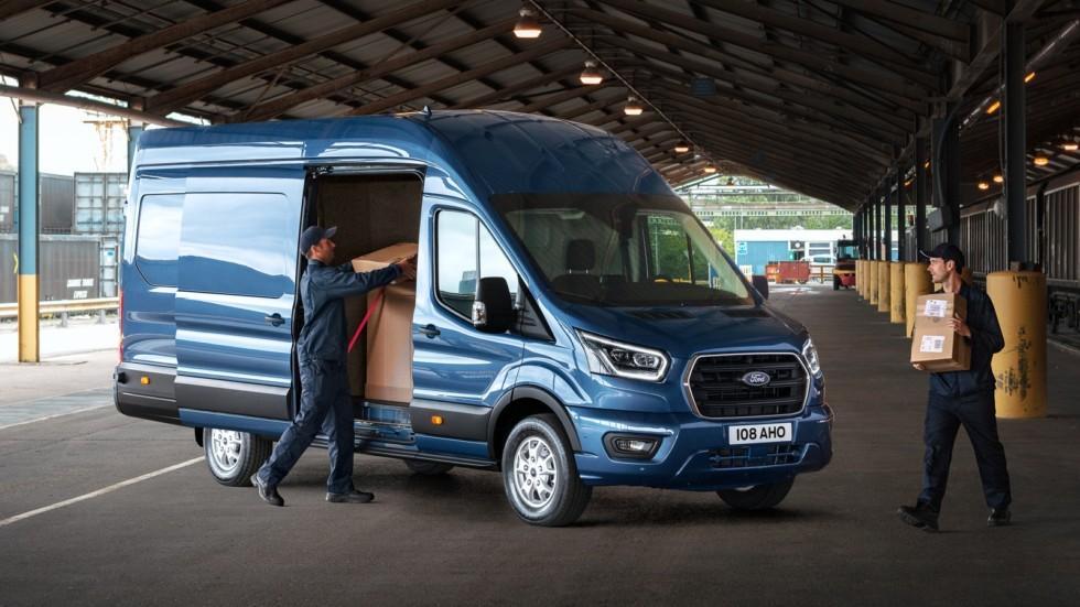Ford Transit получит новый дизельный мотор и полностью измененный интерьер 1