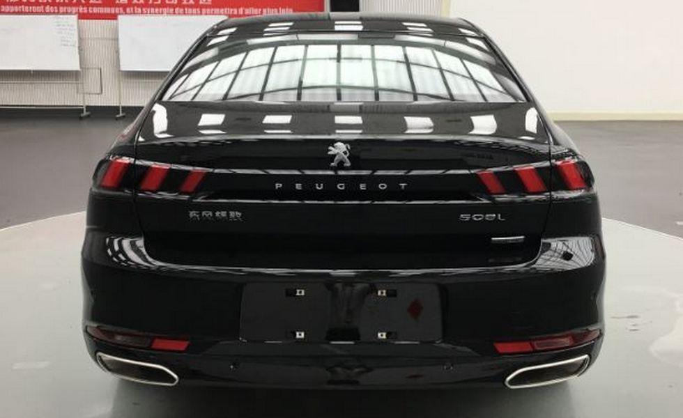 «Растянутый» Peugeot 508 сменит поколение 2