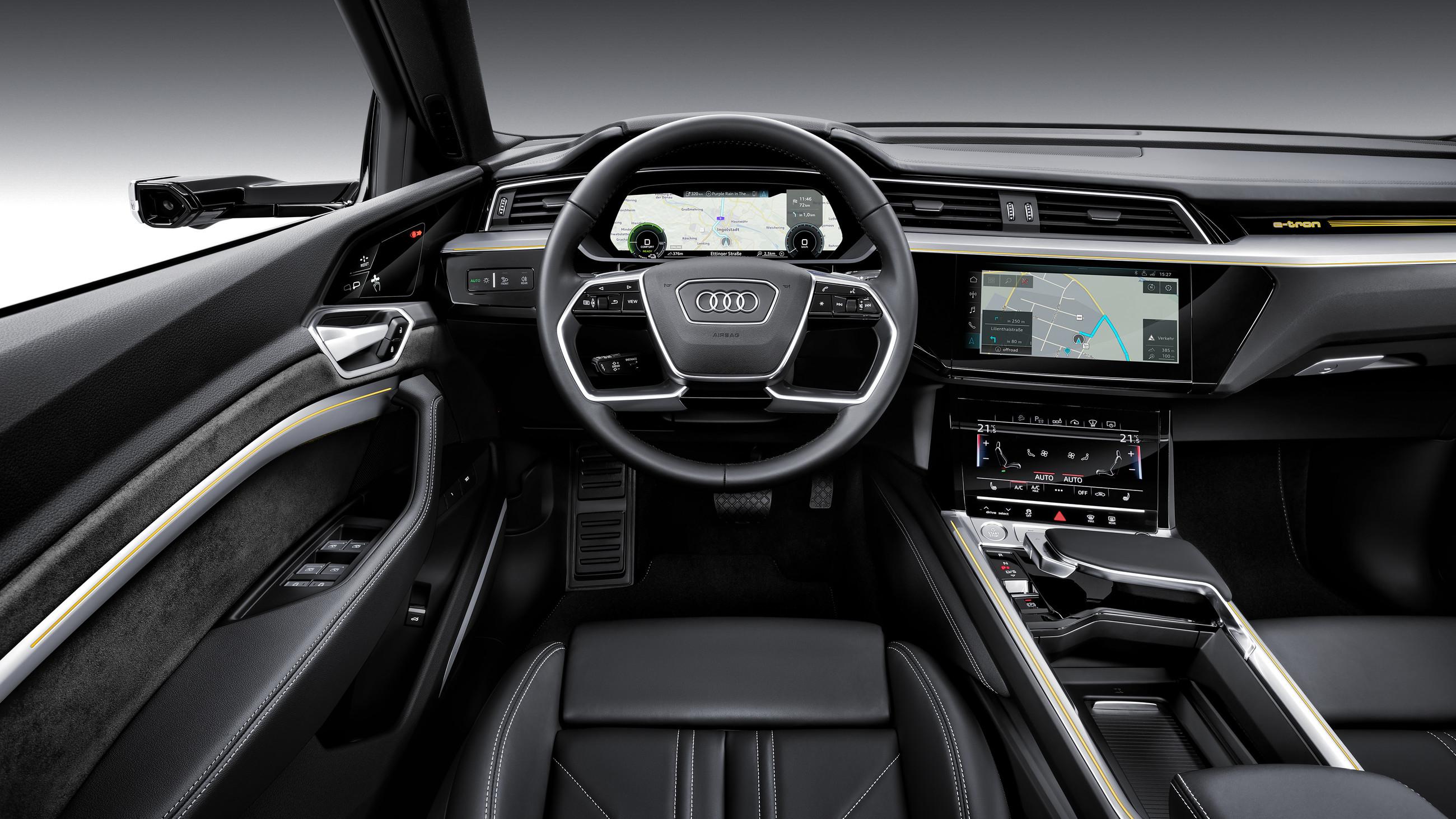 Audi полностью рассекретила кроссовер e-tron 3