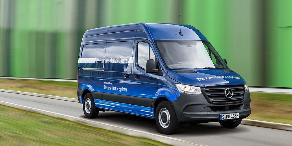 Mercedes-Benz анонсировал премьеру электрического Sprinter 1