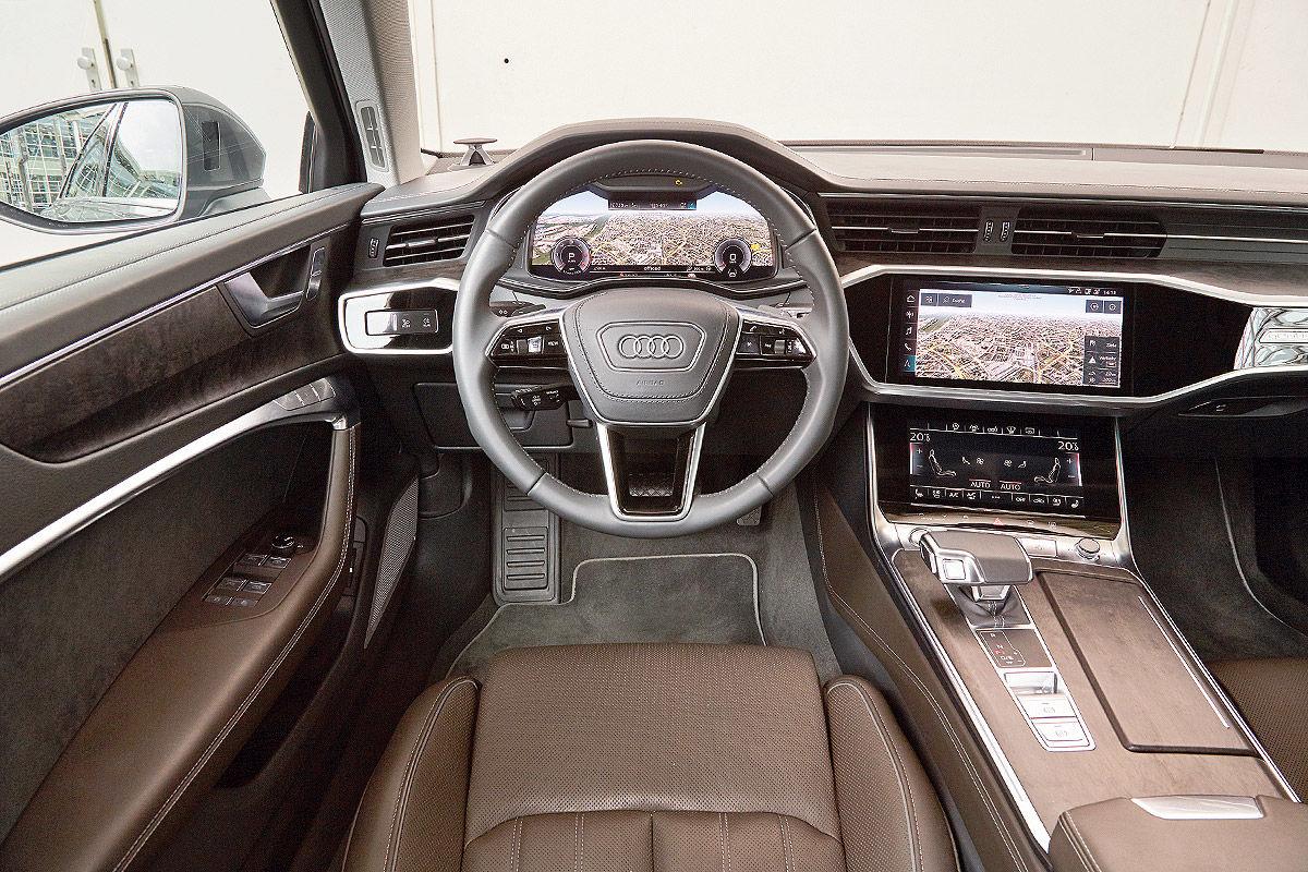 «Тишина и спокойствие»: тест-драйв Audi A6 2