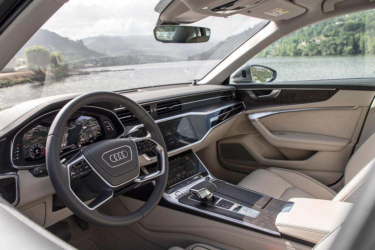 «Тишина и спокойствие»: тест-драйв Audi A6 4