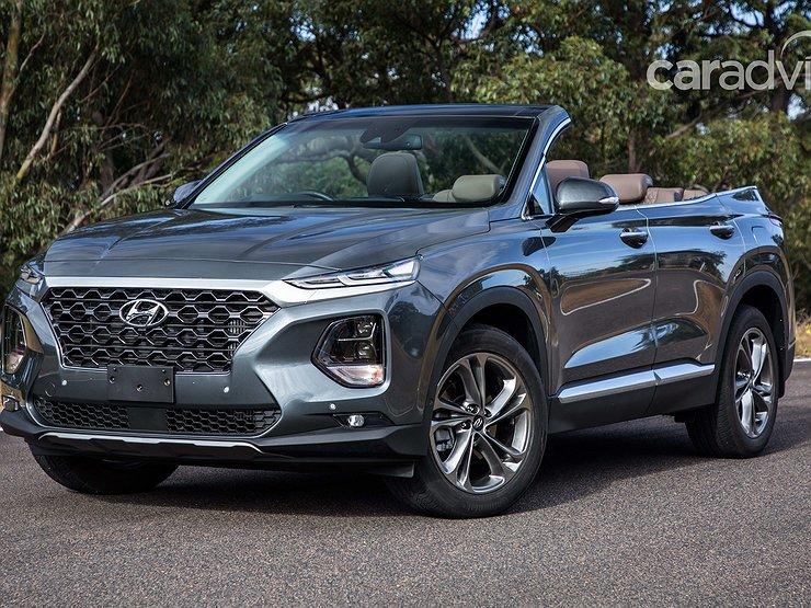Hyundai выпустил кроссовер-кабриолет Santa Fe 1