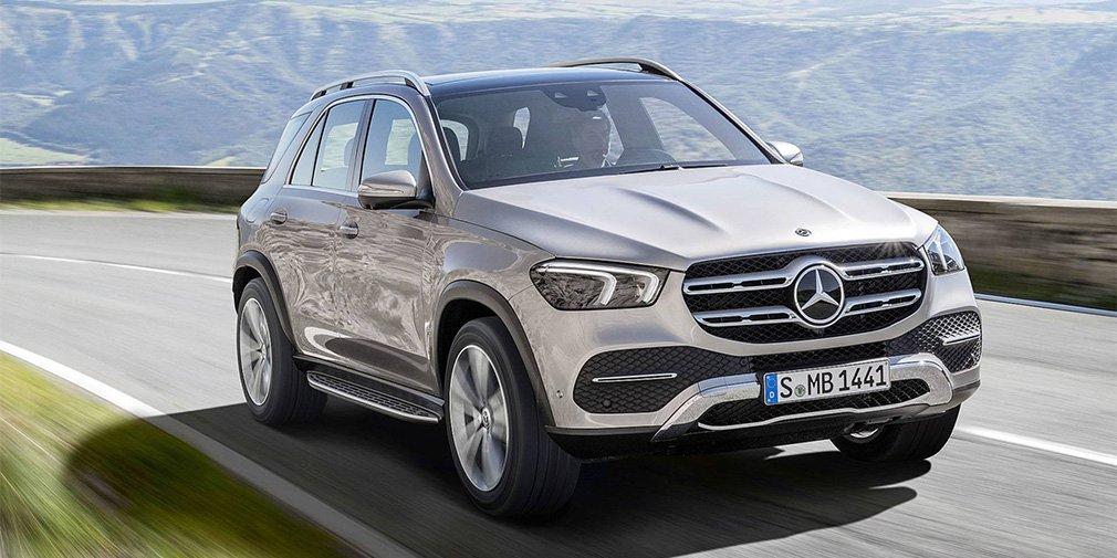 Mercedes-Benz представил кроссовер GLE нового поколения 1