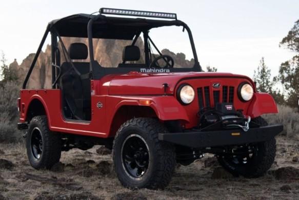Mahindra привезла в США дешёвую копию Jeep 1