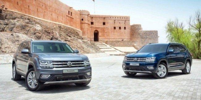 Volkswagen Teramont выходит на рынок Среднего Востока 1