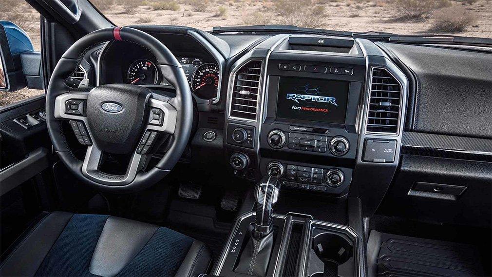 Пикап Ford F-150 Raptor получил внедорожный круиз-контроль 2