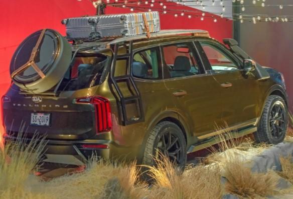 Kia распространила официальные фото кроссовера Telluride 2