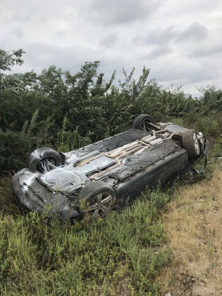 Лимузин с президентом Молдовы попал в ДТП и перевернулся 1