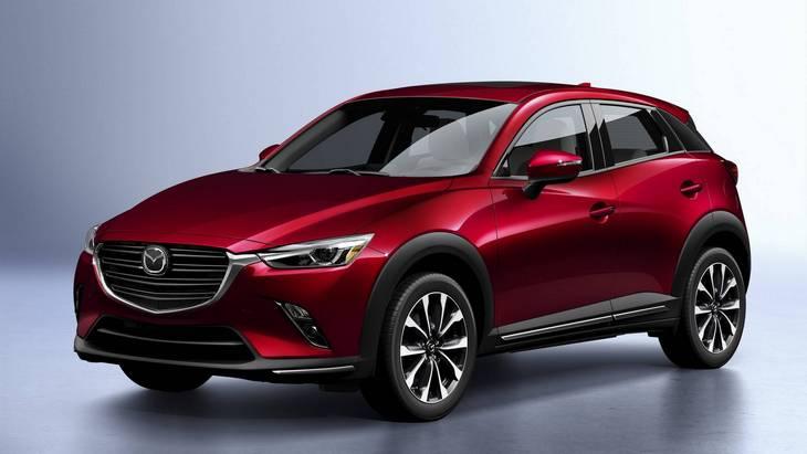 Кроссовер Mazda CX-3 нового поколения станет больше и получит новый двигатель 1