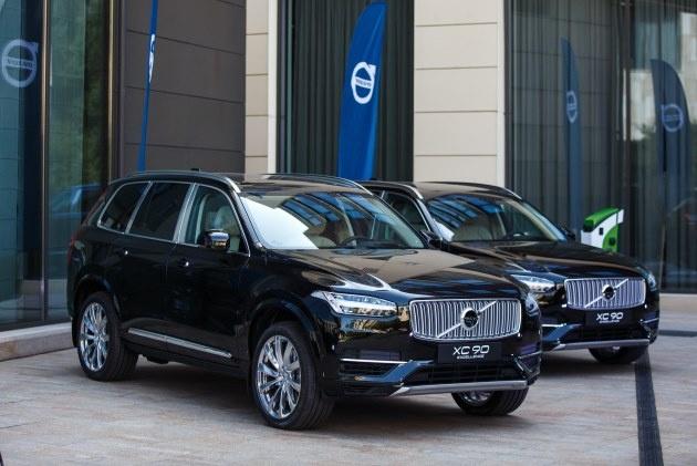 Volvo представила подзаряжаемый гибрид XC90 1