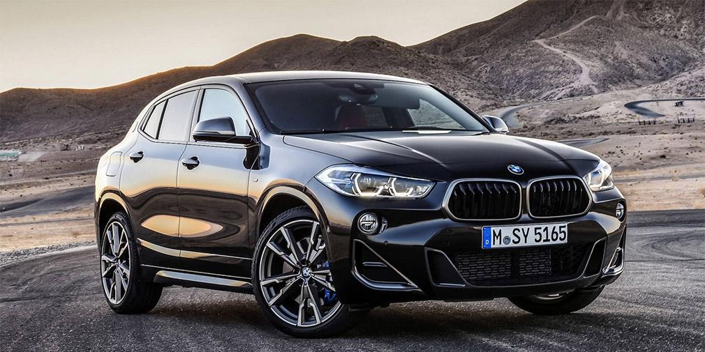 BMW X2 обзавелся спортивной версией 1