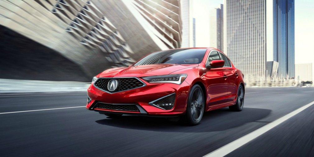 Acura обновила свой самый маленький седан 1