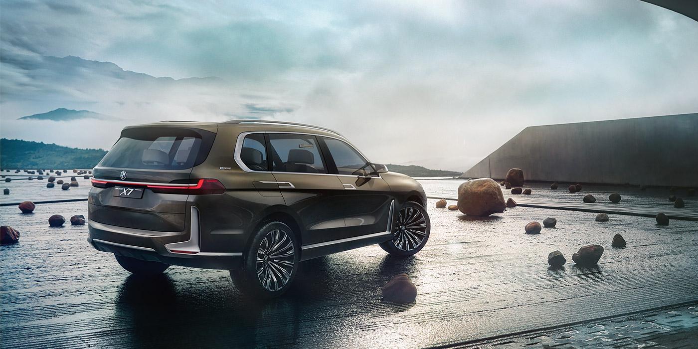 Названа дата премьеры серийного кроссовера BMW X7 1