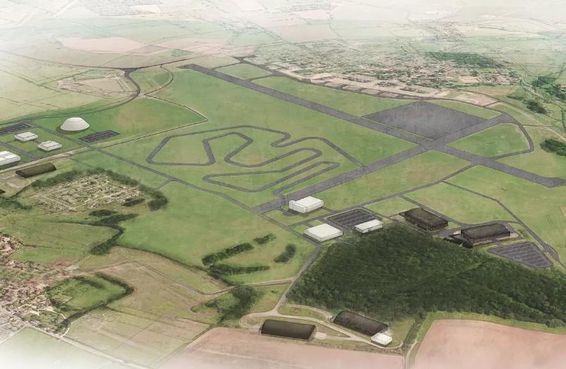 Dyson построит 16-километровый автодром для электрокаров 1
