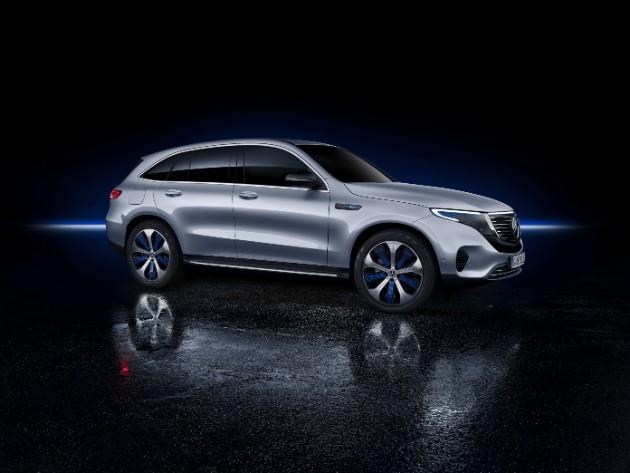 Mercedes-Benz презентовал первый серийный электрокар 2