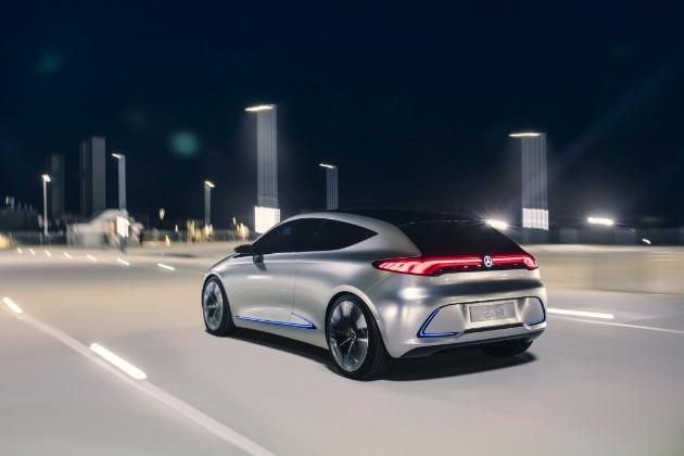 Mercedes-Benz выпустит десять моделей электромобилей за четыре года 2