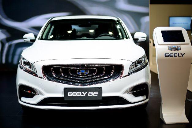 Geely раскрыла все подробности о бензоэлектрическом седане GE 1