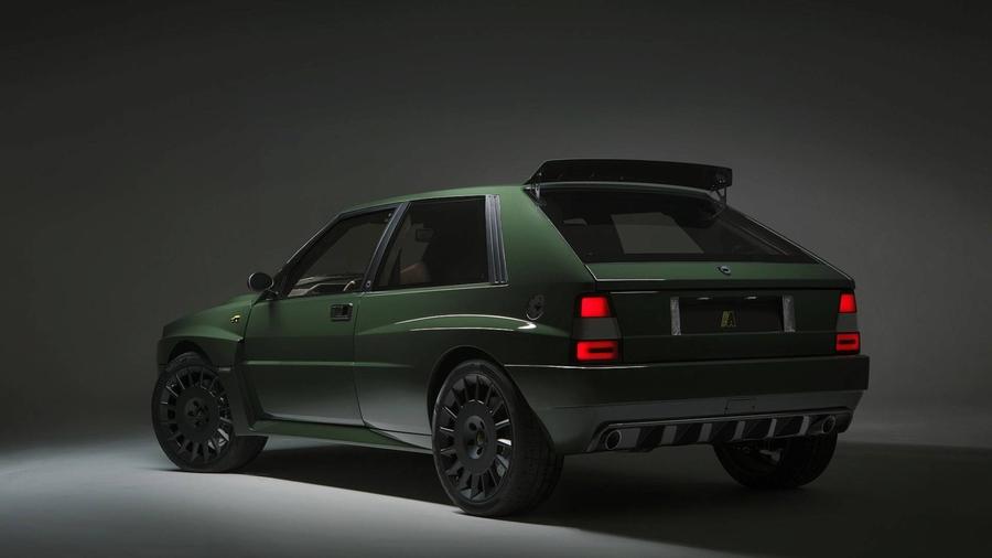 Рестомод Lancia Delta Futurista оценили в 300 тысяч евро 2