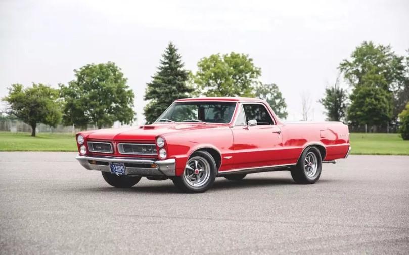 Классический маслкар Pontiac GTO превратили в уникальный пикап 1