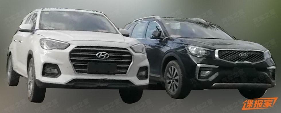 Hyundai тестирует семиместный кроссовер в «теле» нового ix35 2