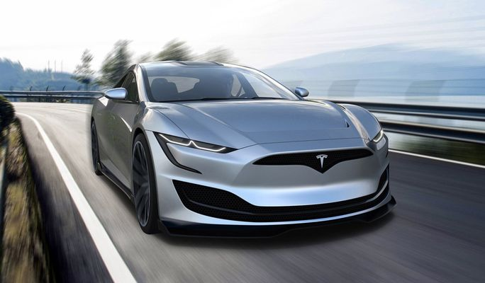 Какой может быть Tesla Model S нового поколения 1