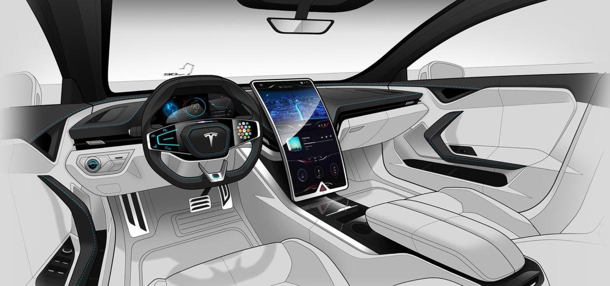 Какой может быть Tesla Model S нового поколения 3