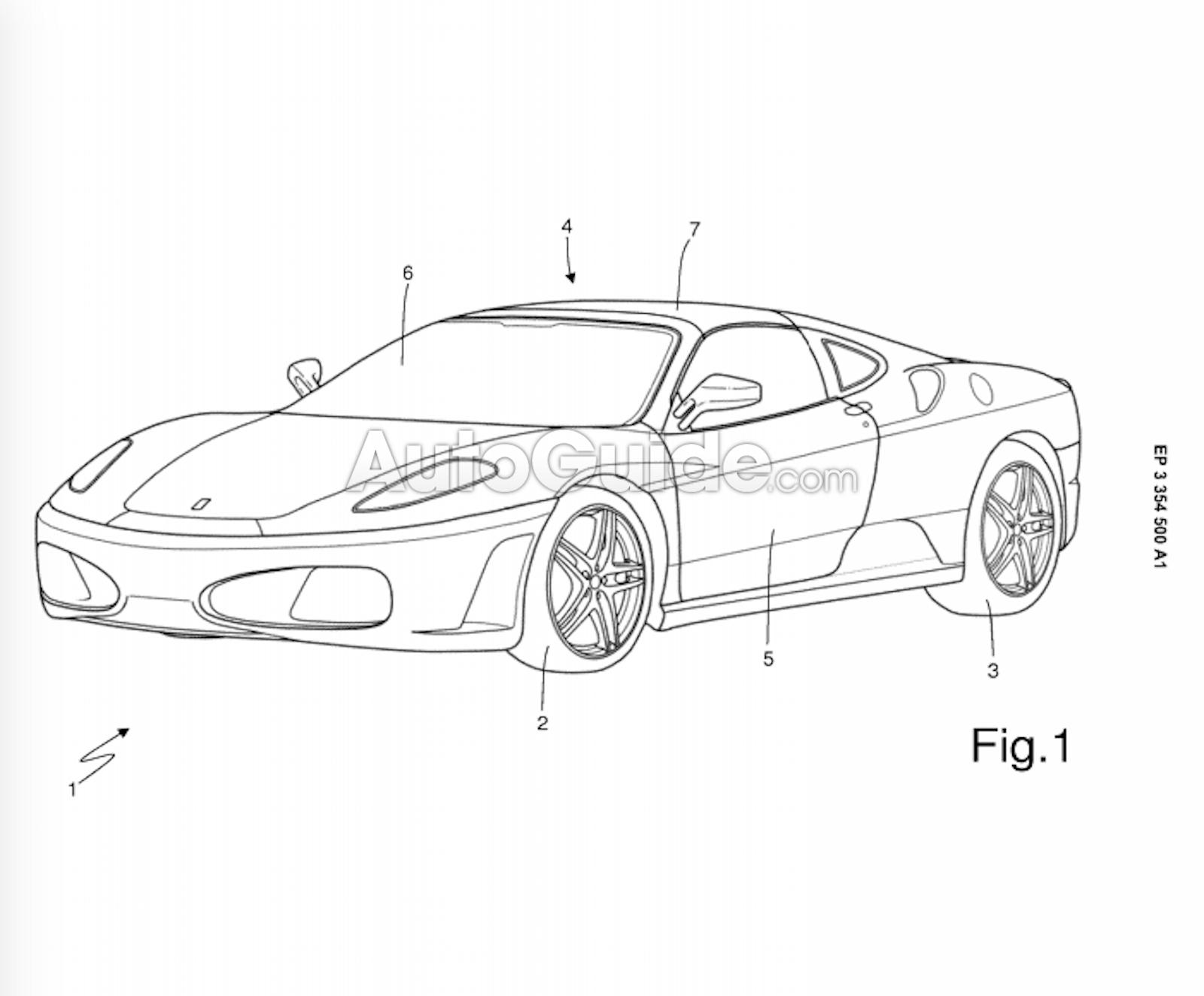 Модельный ряд Ferrari может расшириться за счет тарги 1