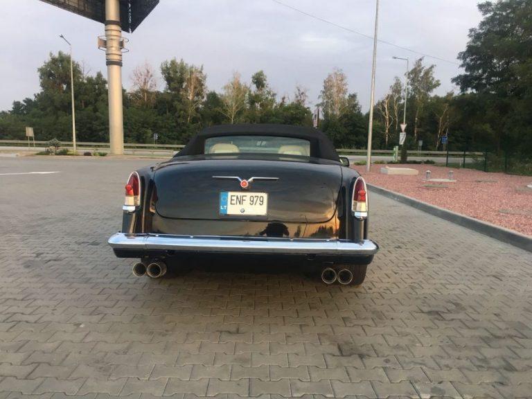 Украинский умелец создал «Волгу без крыши» с двигателем BMW 3