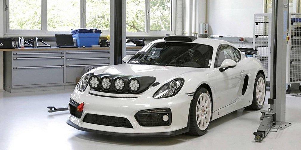 Самый быстрый Porsche Cayman превратили в ралли-кар 1