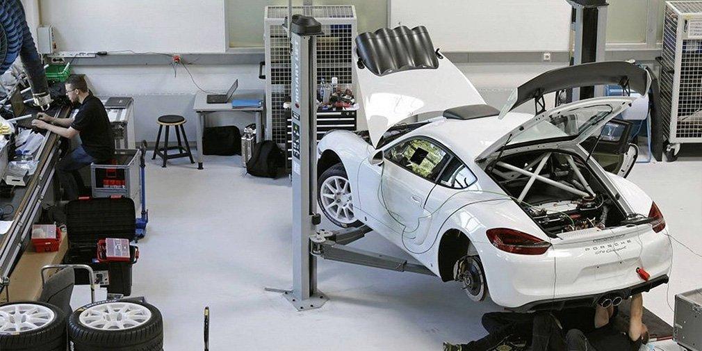 Самый быстрый Porsche Cayman превратили в ралли-кар 2