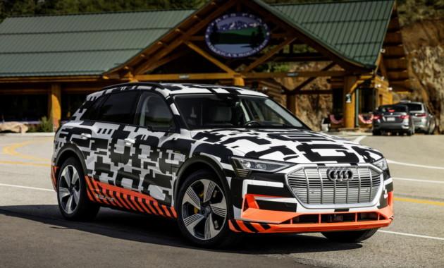 Мощность Audi e-tron превысит 400 лошадиных сил 1