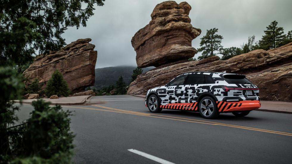 Мощность Audi e-tron превысит 400 лошадиных сил 2